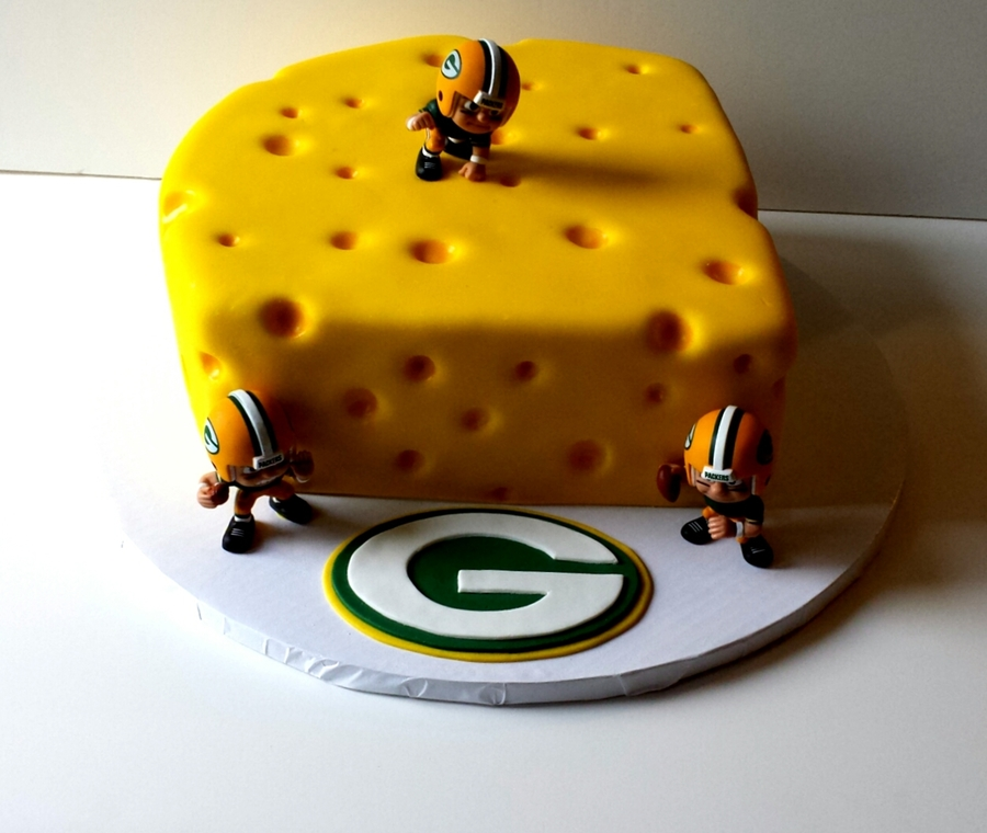 Green Bay Packers Quot Cheese Quot Cake Cakecentral Com