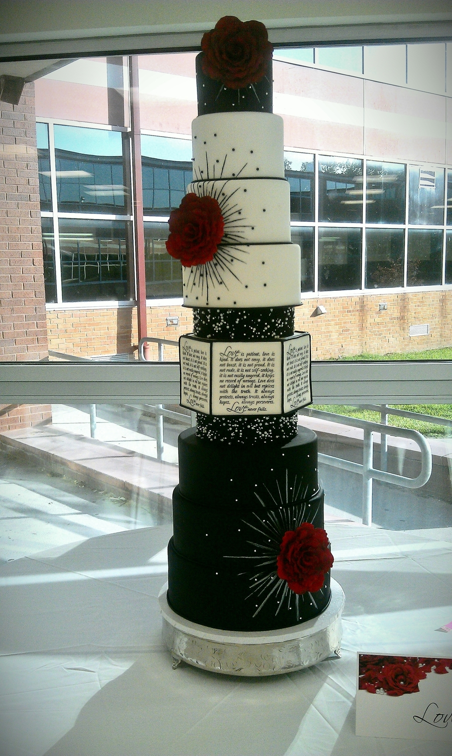 Love Is Patient - Competition Wedding Cake on Cake Central