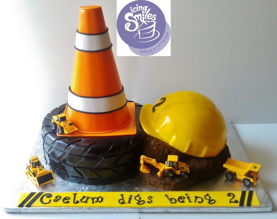 Construction Dump Truck Cake on Cake Central