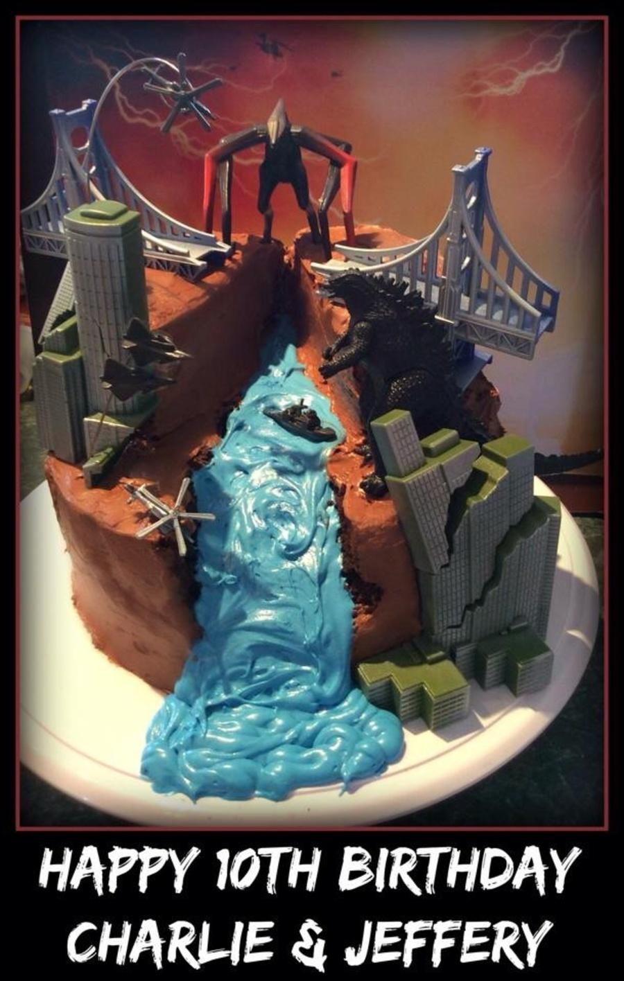 Godzilla Cakecentral Com