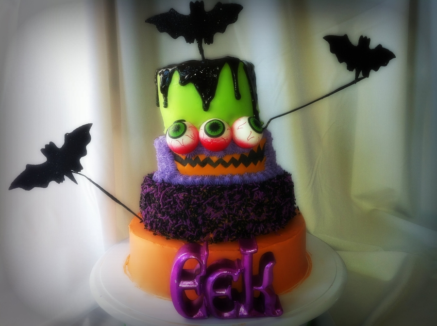 Goofy Halloween on Cake Central