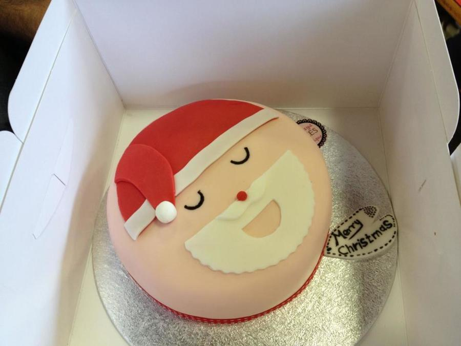 Santa Cakes Simple And Fun For The Kids X on Cake Central