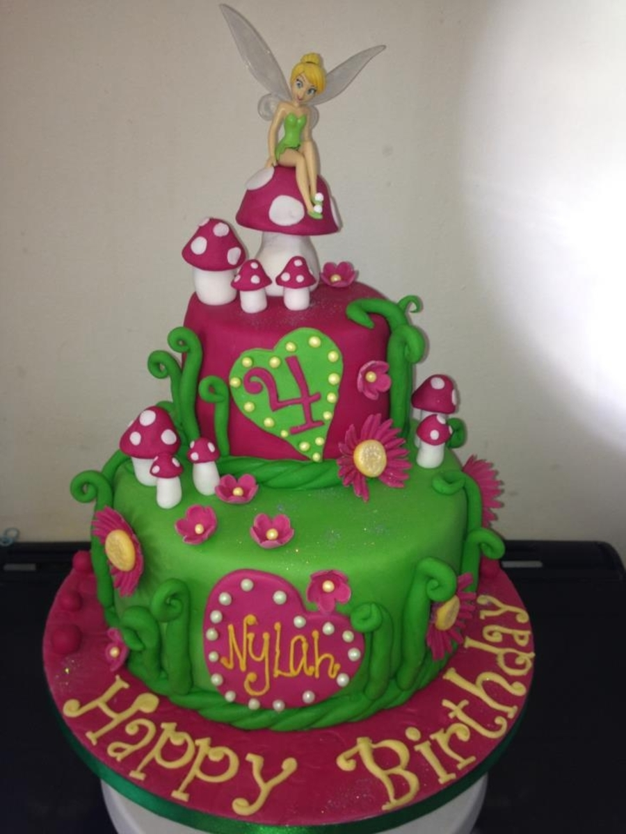 Tinkerbell Cake on Cake Central