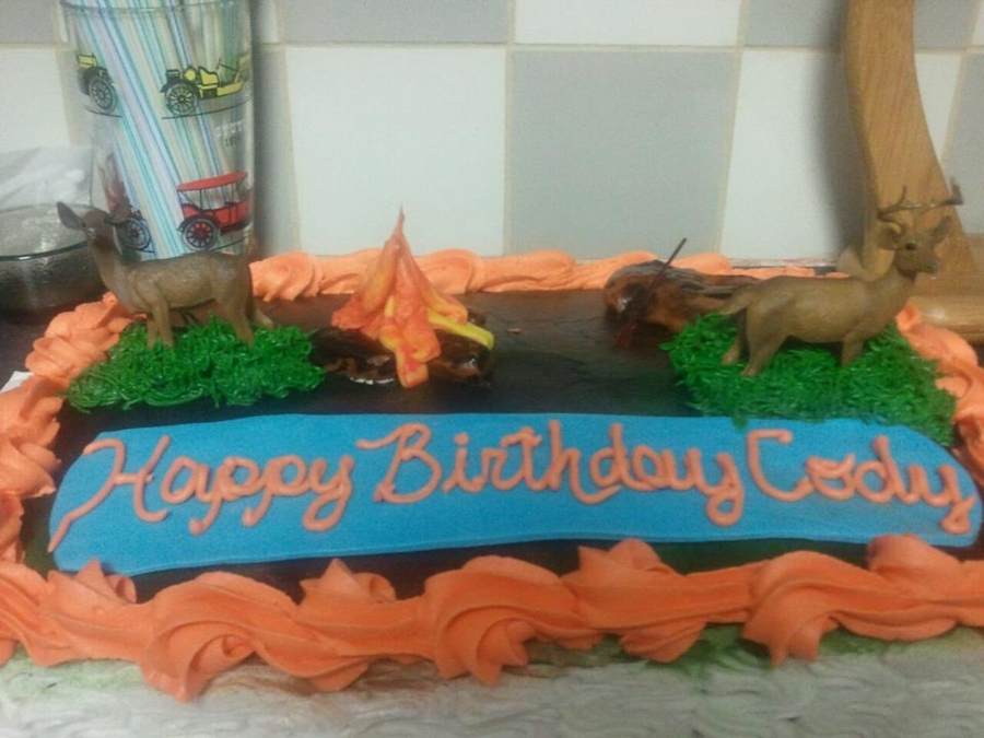 Hunting Cake on Cake Central