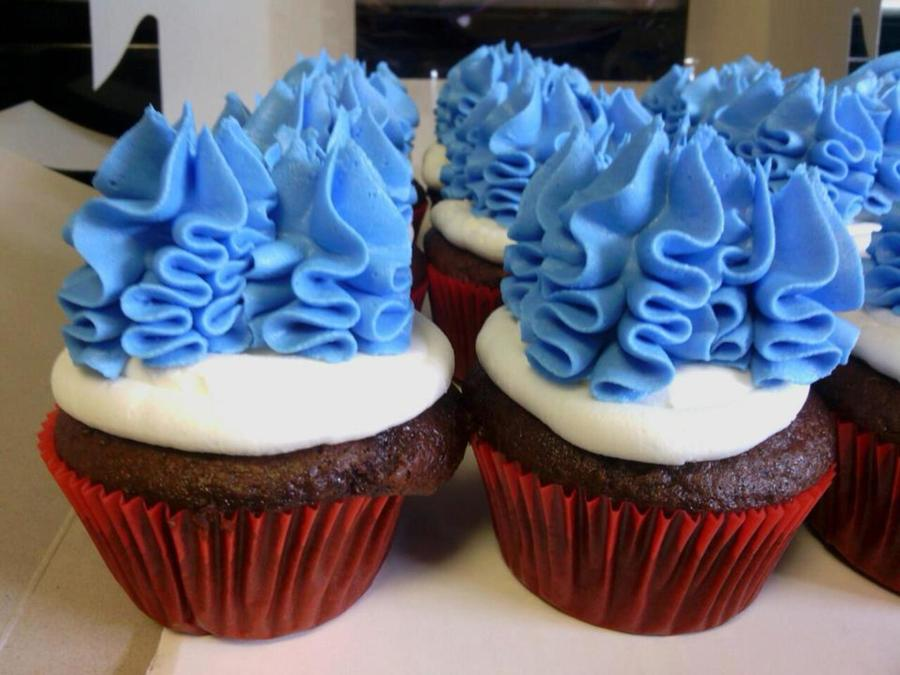 Thing 1 Thing 2 Cupcakes on Cake Central