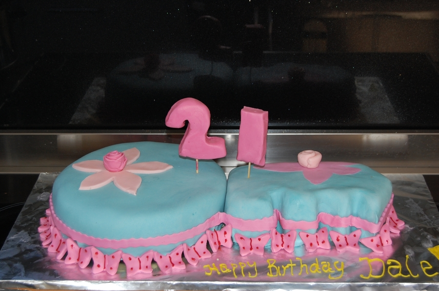 My Niece's 21St on Cake Central