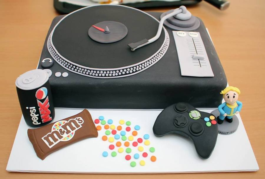 Automatic Cake Turntable