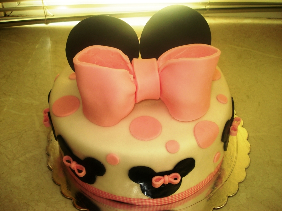 Minnie on Cake Central