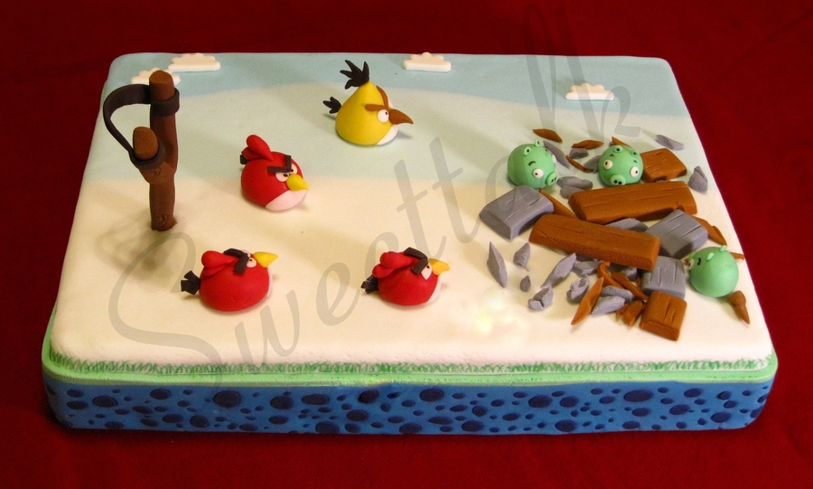 Angry Birds Cake !!! on Cake Central