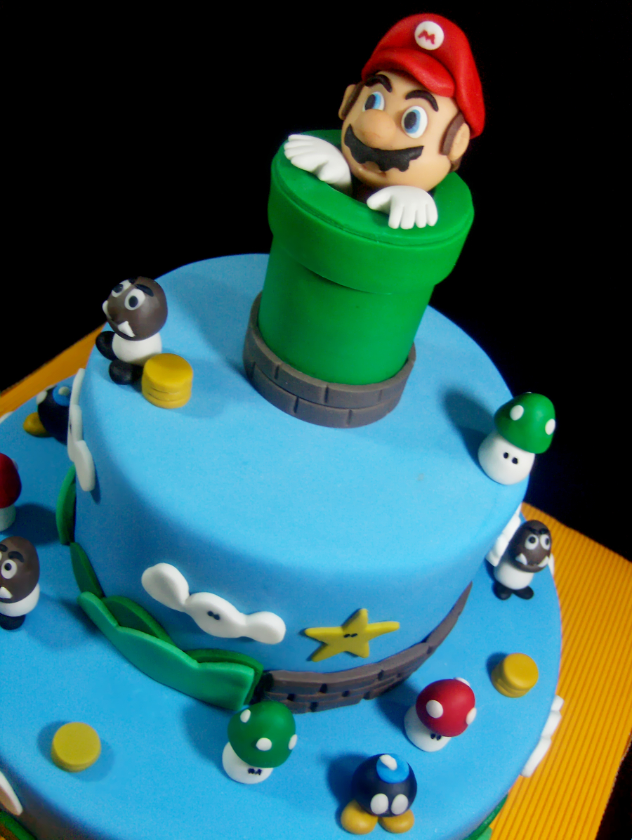 Images Of Mario Cakes