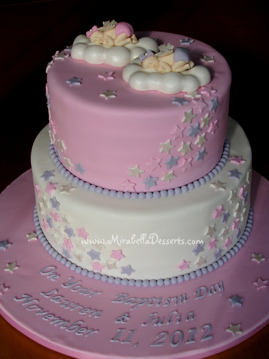 Two Tier Christening Cake Recipe