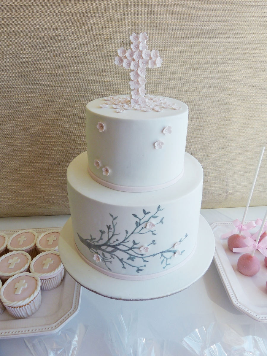 Branches And Flowers  on Cake Central