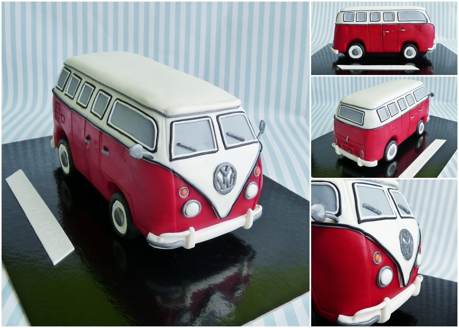 Vw Bus on Cake Central