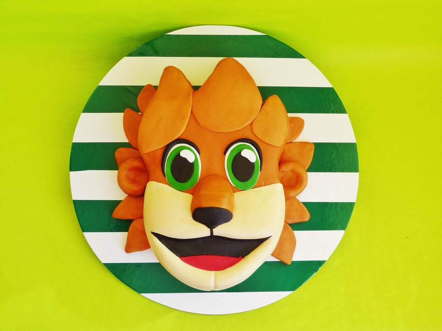 Soccer Mascot on Cake Central