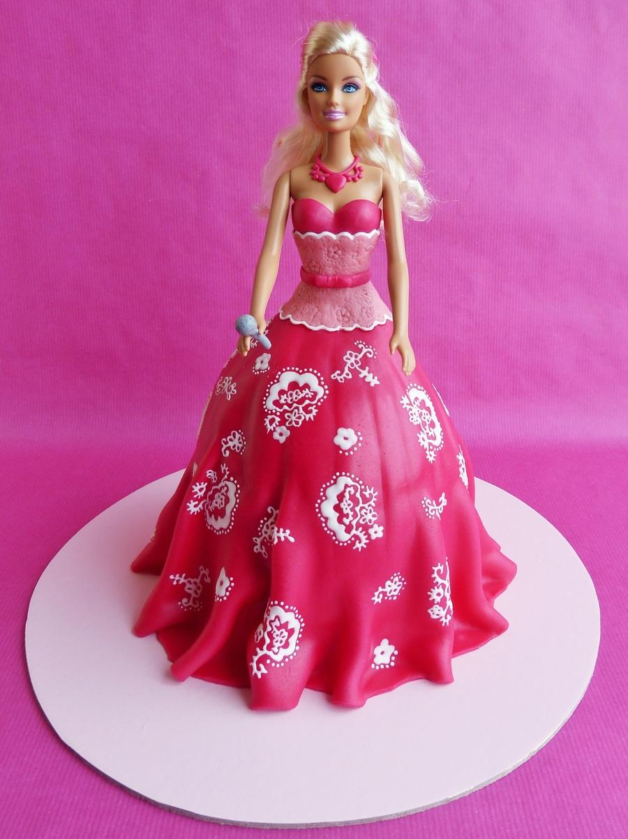 Barbie Pop Star Cake Cakecentral Com