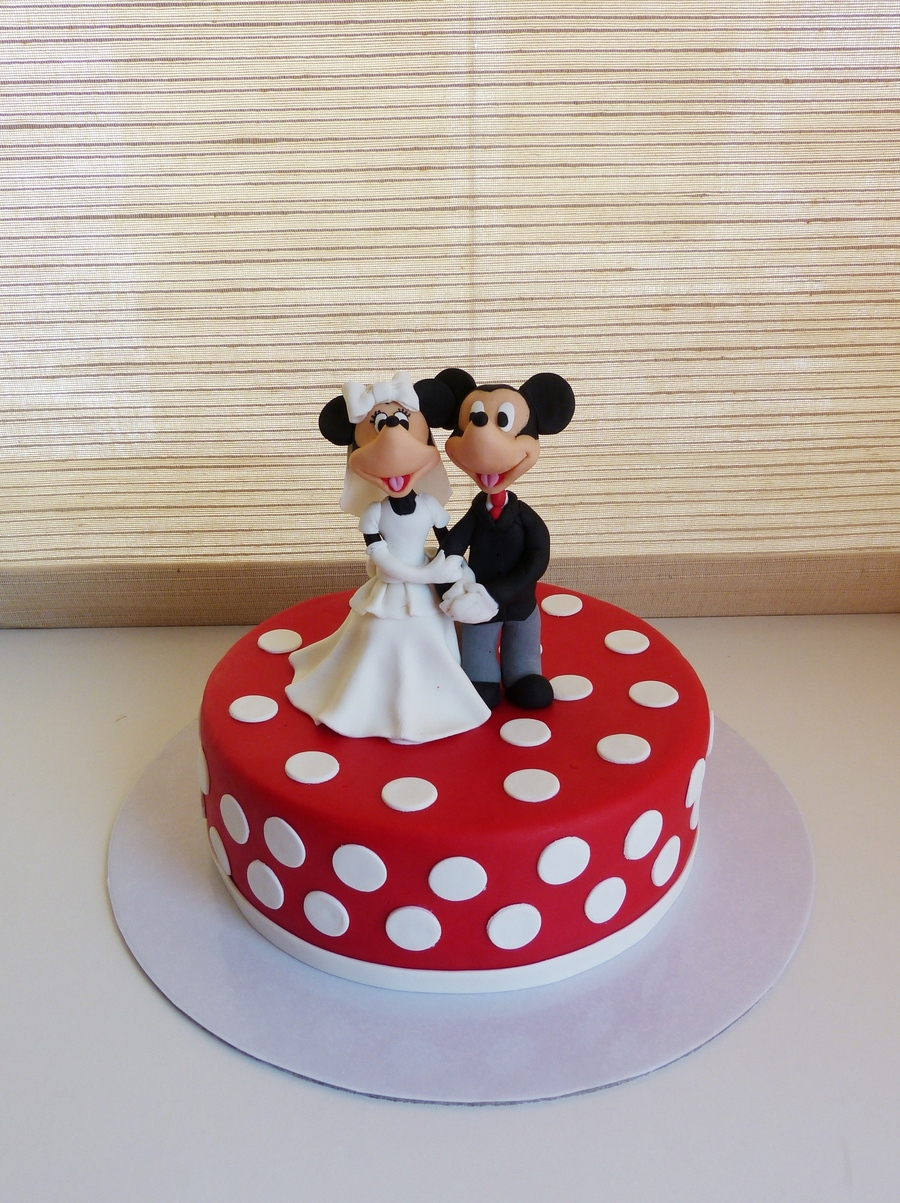 Minnie And Mickey Wedding on Cake Central
