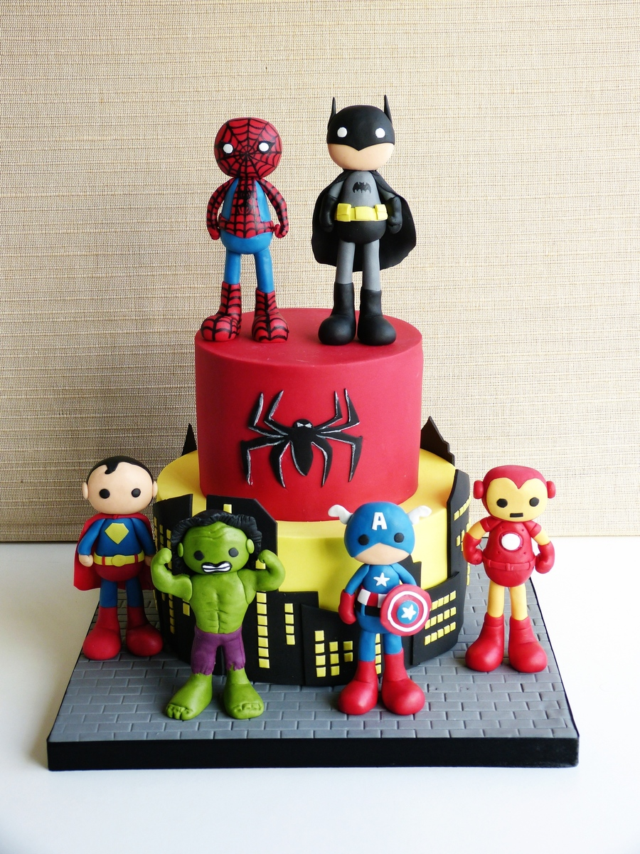 Super Heroes Cakecentral Com