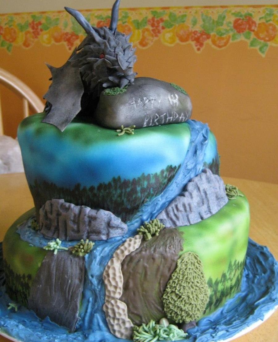 Skyrim Birthday Cake Cakecentral Com