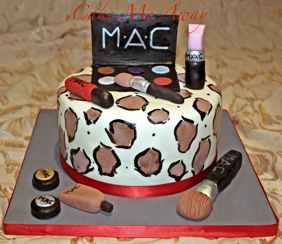 Mac Make Up Cake on Cake Central