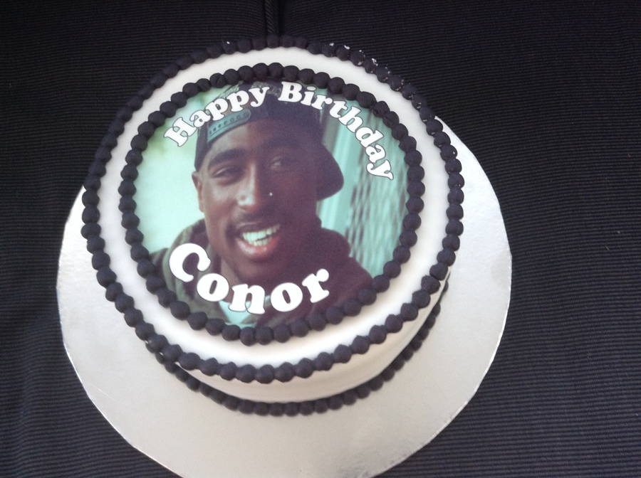 Tupac Cake Cakecentral
