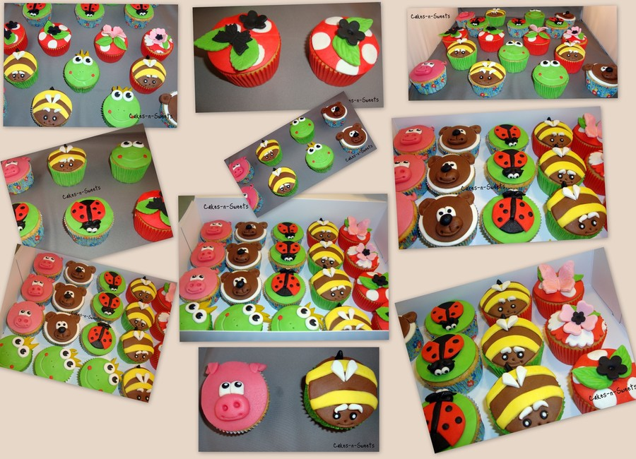 Animal Cupcakes on Cake Central