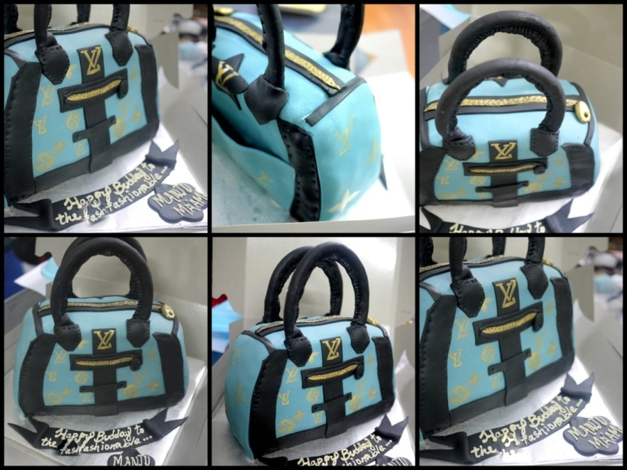 Lv Bag Cake! on Cake Central