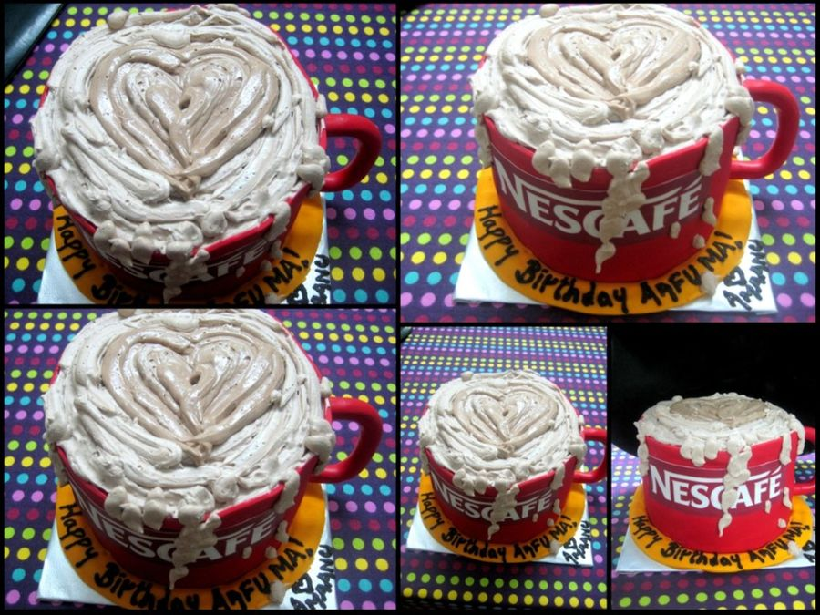 Nescafe Cake!! on Cake Central