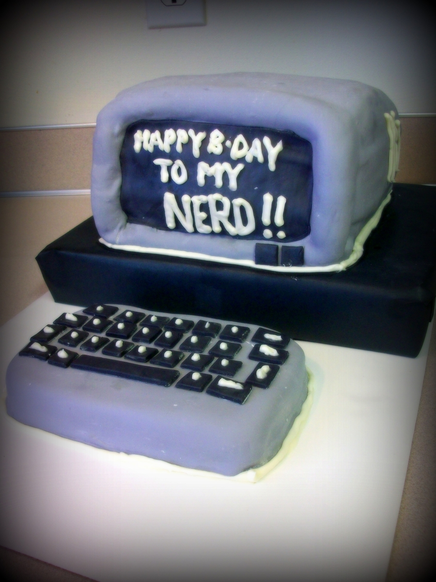 Computer Cake on Cake Central
