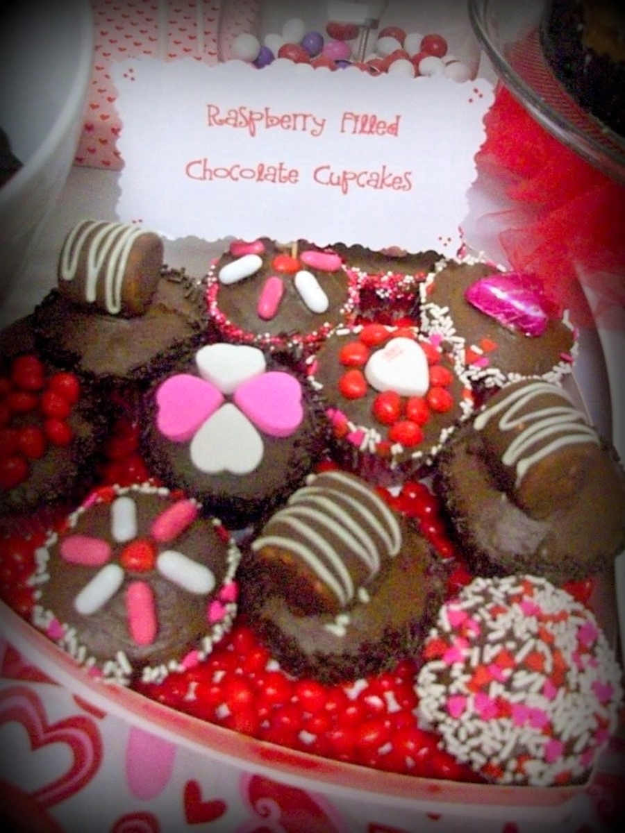 Valentine Cupcakes on Cake Central