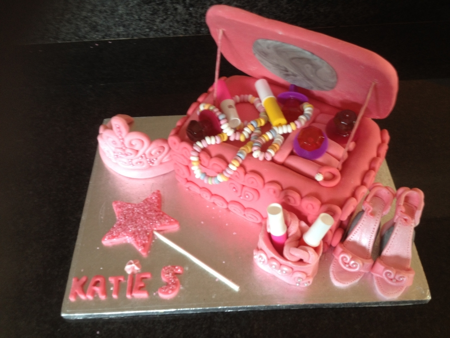 Princess Jewellery Box Cake on Cake Central