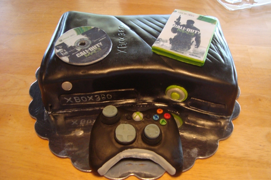 Xbox360  on Cake Central