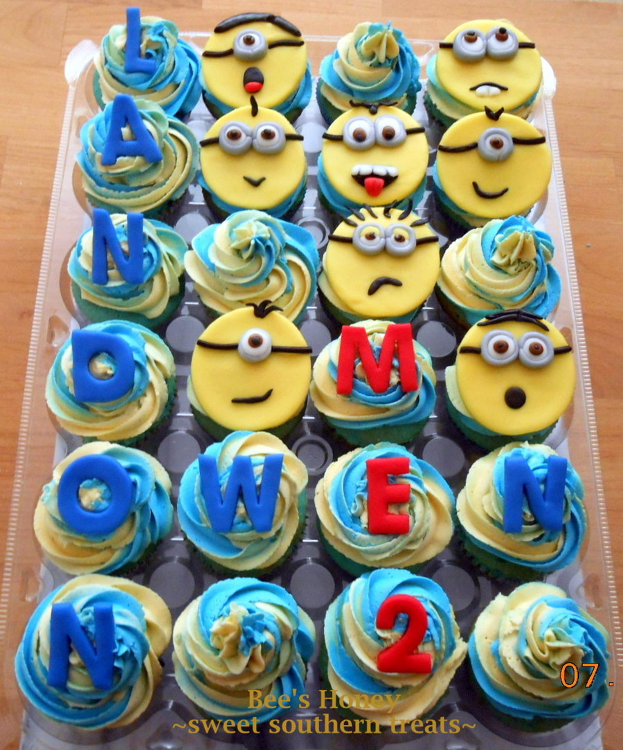 Copy Of Minions 015 on Cake Central