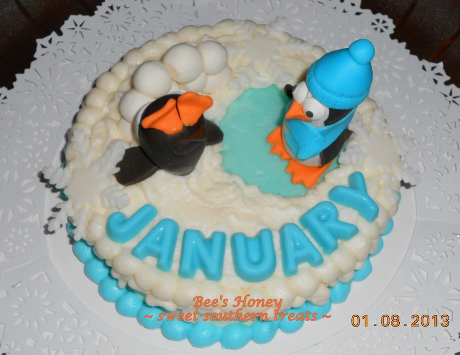 January Cakes 017 on Cake Central