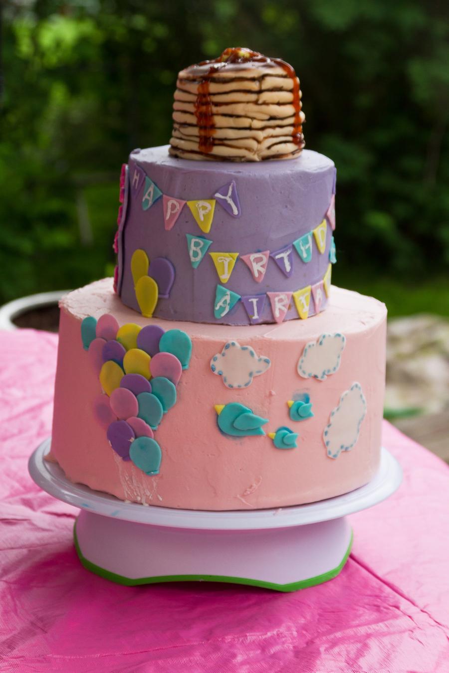 Outdoor Pajama And Pancakebreakfast Birthday Party Themeso I Created