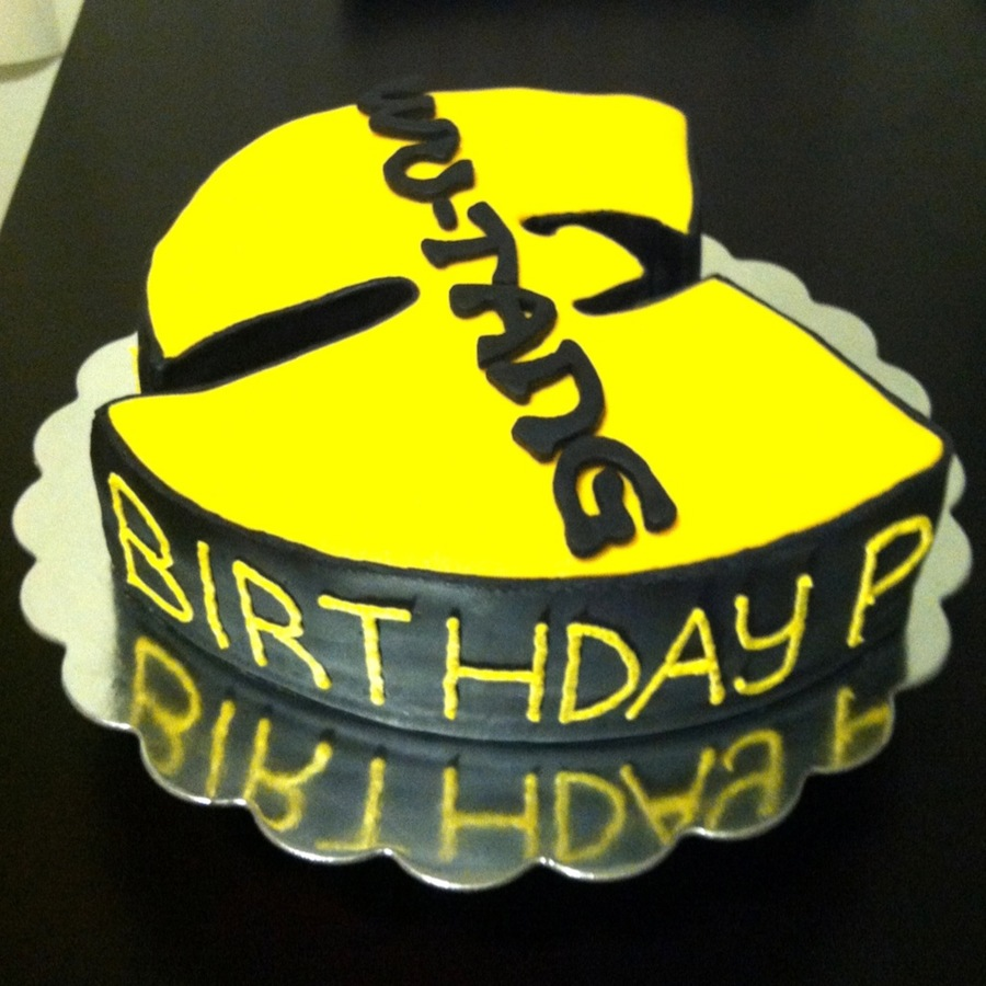 A Wu Tang Birthday Cake I Designed For A Special Birthday