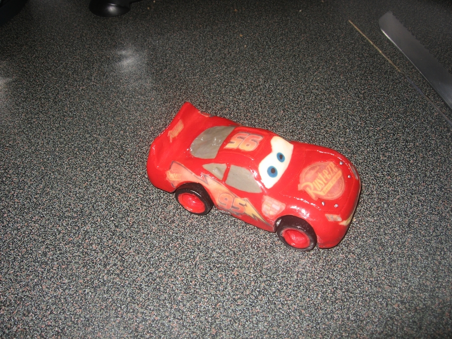 Lightning Mcqueen on Cake Central