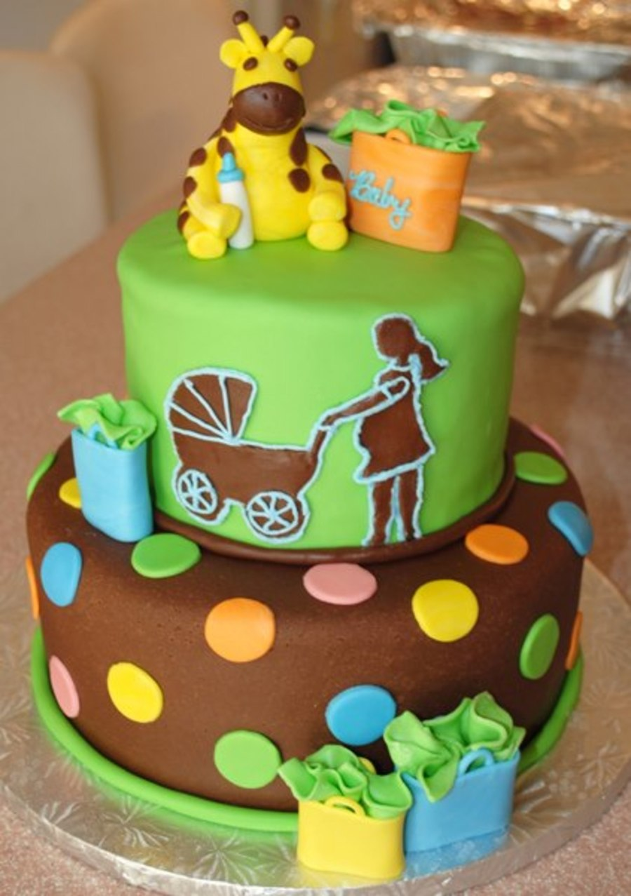 Jungle Cake Decorations : Baby Shower Cake Based On The Fisher Price Jungle Party ...