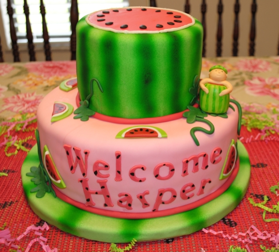 Watermelon Baby on Cake Central