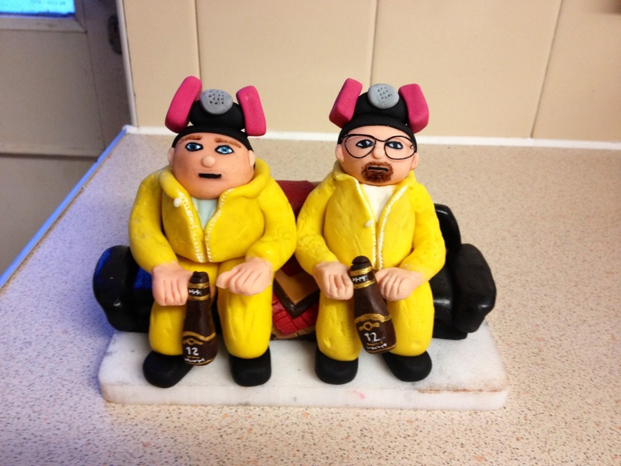 Walt And Jesse Made For A Friend Of Mine To Make Him Smile on Cake Central