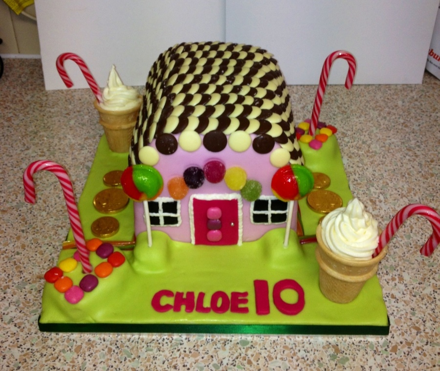 Candy House :) on Cake Central