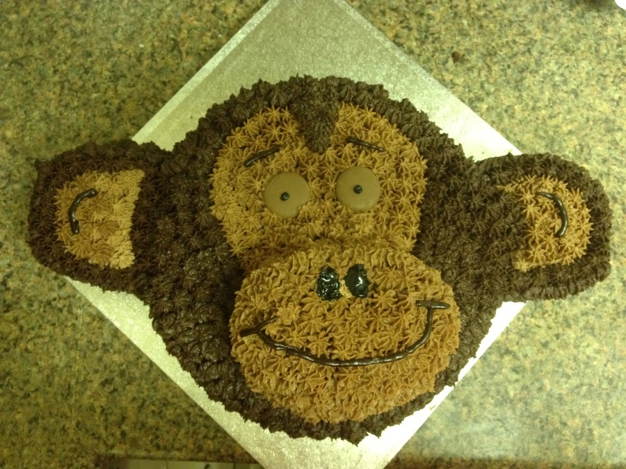 Monkey :) on Cake Central