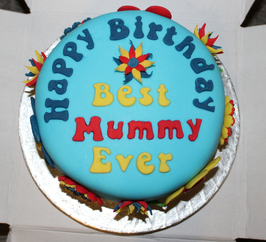 Mummy Birthday Cake Images