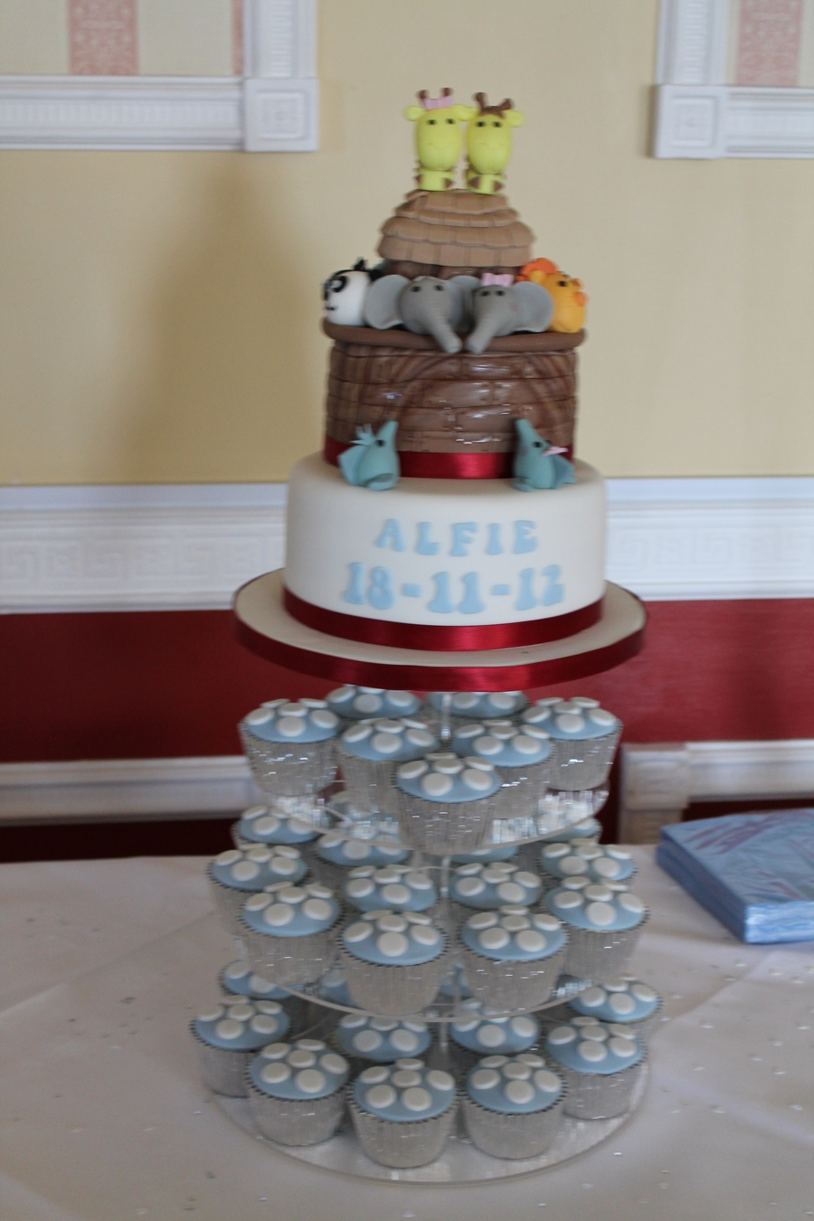 Ark Birthday Cake Recipe
