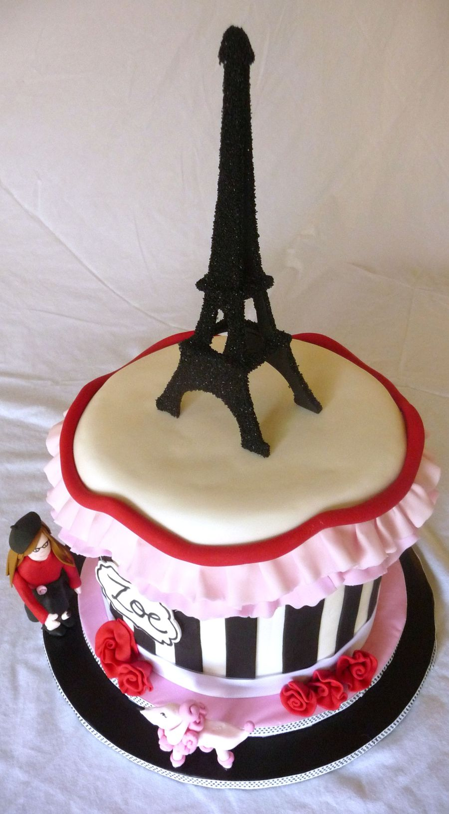 Cake Images With Name Pari : Paris-Themed Cake - CakeCentral.com