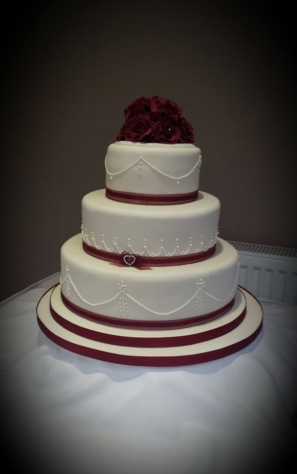 valentines day 3 tier wedding cake - cakecentral, Ideas