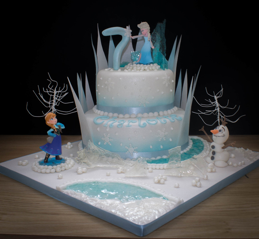 Disney Frozen Sheet Cake Ideas