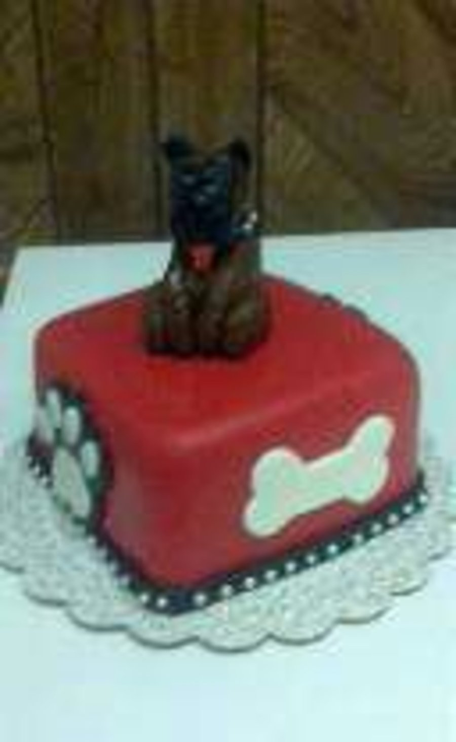 Boxer Dog Cake By Pamcakes on Cake Central