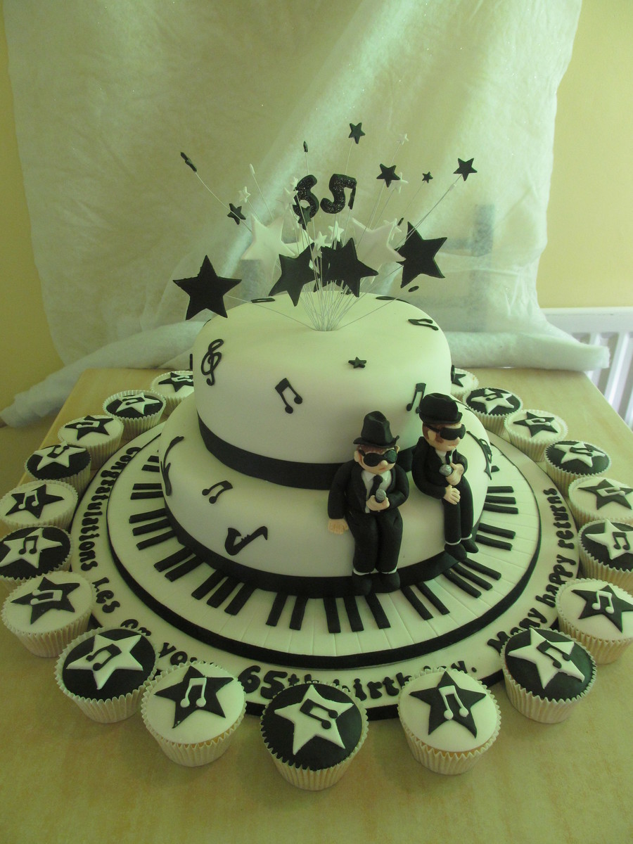 Blues Brothers Cake And Cupcakes Lemon Sponge With Lemon Buttercream Filling The Largest Cake Drum Is 20 Inches Was Very Heavy And Diffic on Cake Central