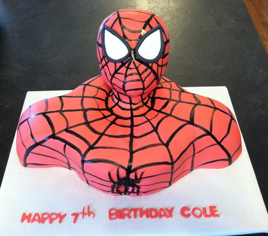 Spidey on Cake Central