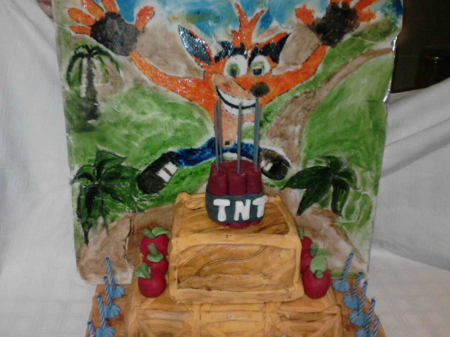 Crash Bandicoot Cake Cakecentral